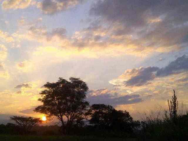 Hayfields Sunset
