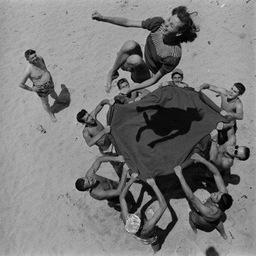human trampoline