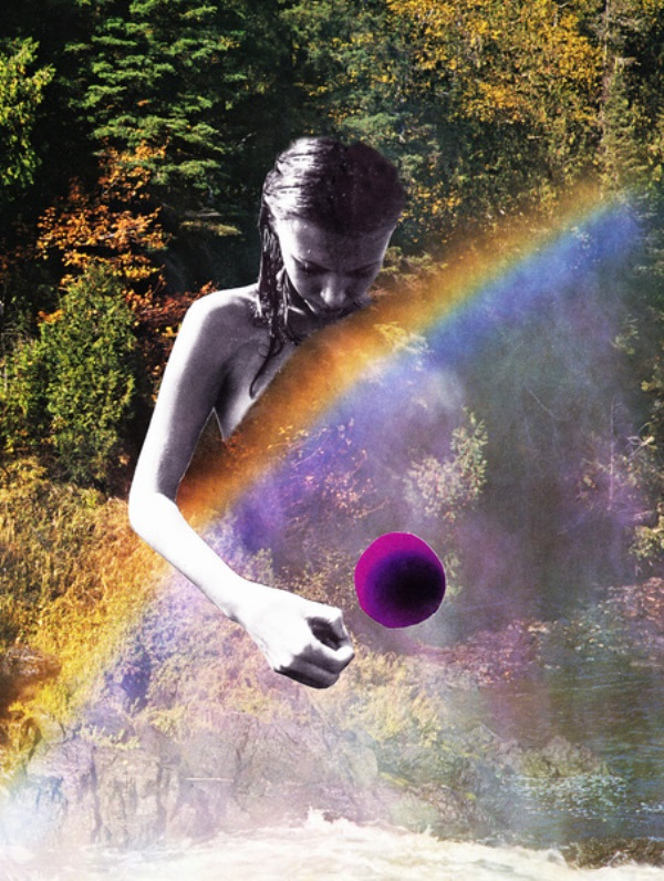 "Erin Case - ""Rose Window"". Digital collage, 2013"