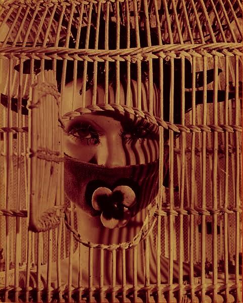 Raoul Ubac - Tête du Mannequin d'Andre Masson colour tweaked