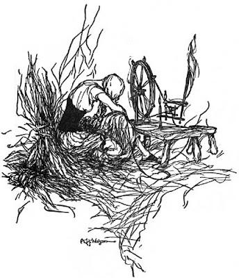 Rumpelstiltskin Illustration: A H Watson