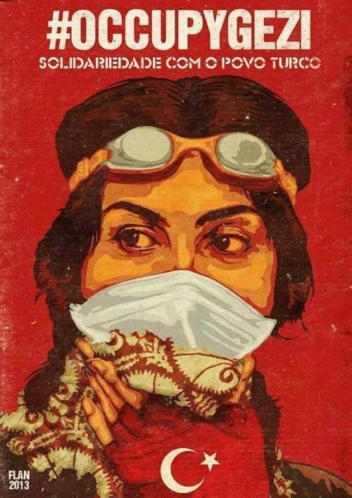 Brazilian solidarity poster