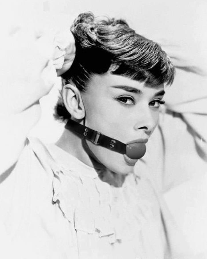 Audrey Hepburn. Photographer unknown to me.