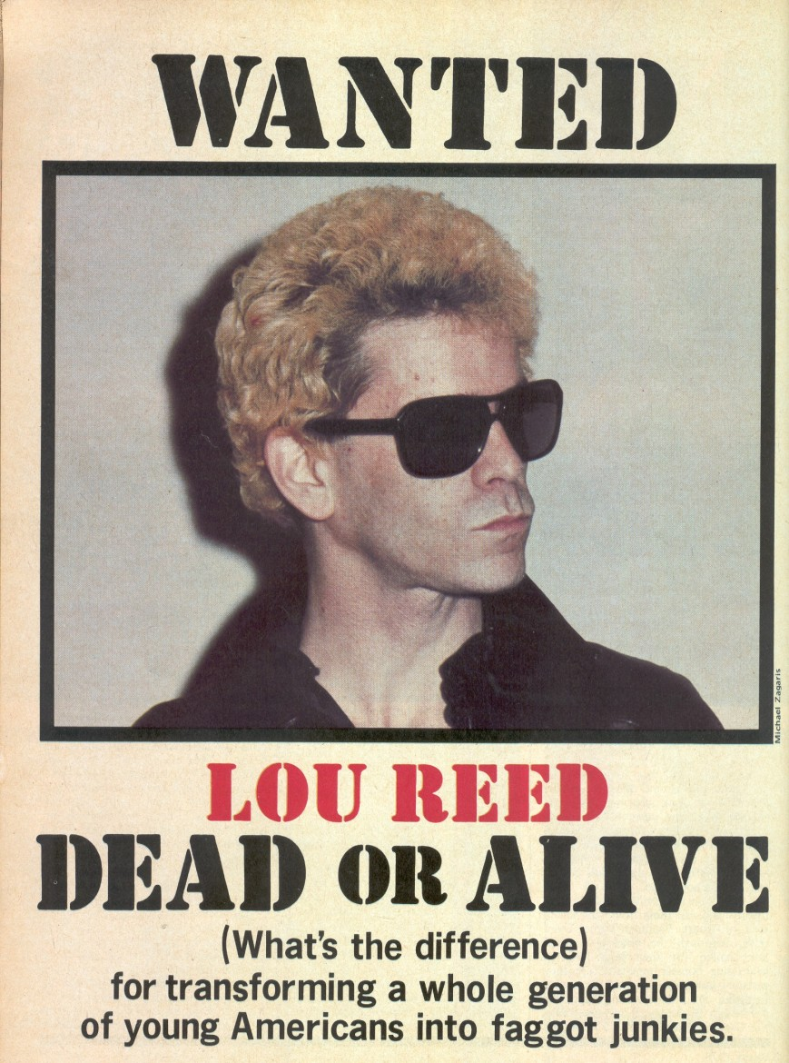 Lou Reed Creem