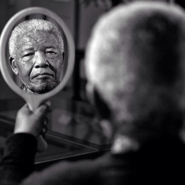 mandela in the mirror