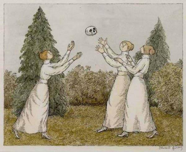 Edward Gorey - A Dull Afternoon