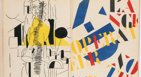 Illustration: Fernand Léger, 1919