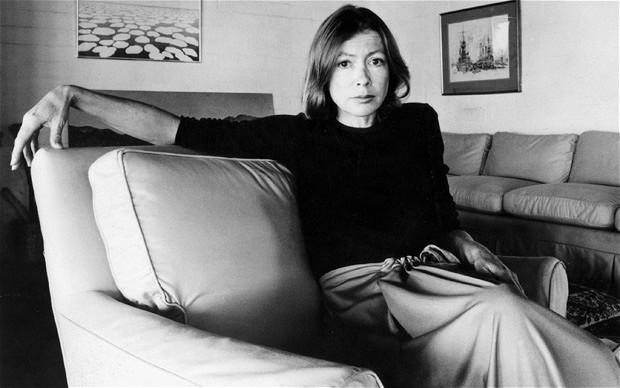 Joan Didion, 1977. Photo: REX FEATURES