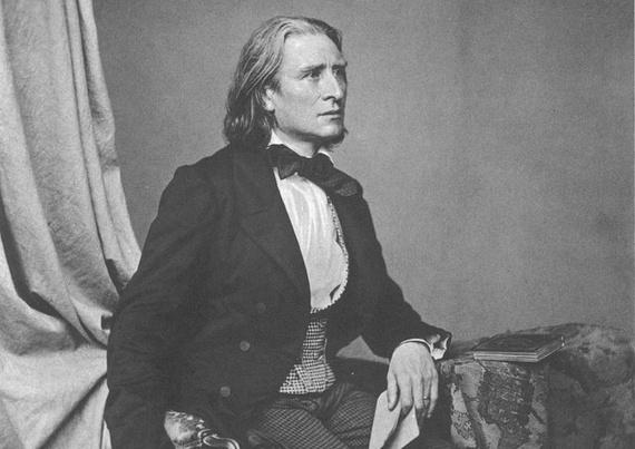 Heartbreaker Franz Liszt circa 1860 (Franz Hanfstaengl/Wikimedia)