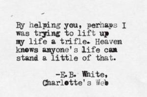helping charlotte