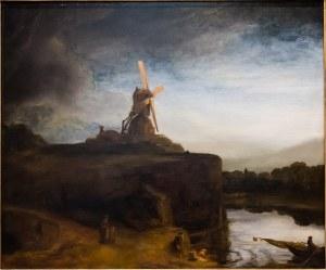 """The Mill"".Rembrandt Harmenszoon van Rijn.1645/48."