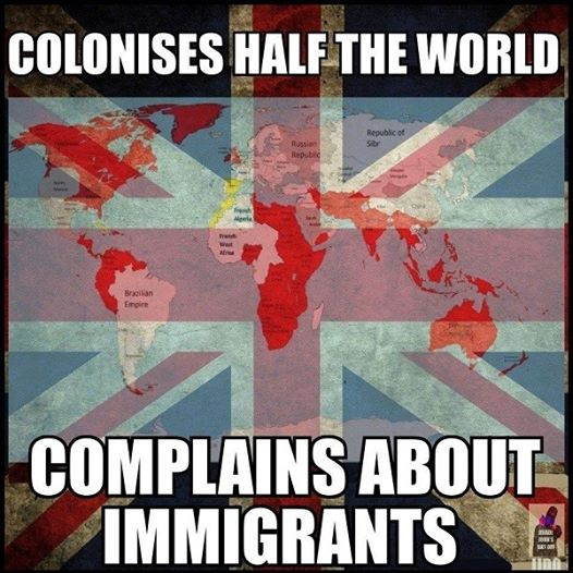 colonises half the world