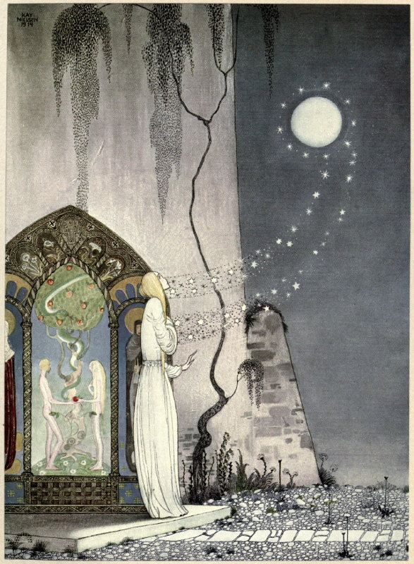 Kay Nielsen, 1914. Illustration from 'East of the Sun and West of the Moon: Old Tales from the North'.