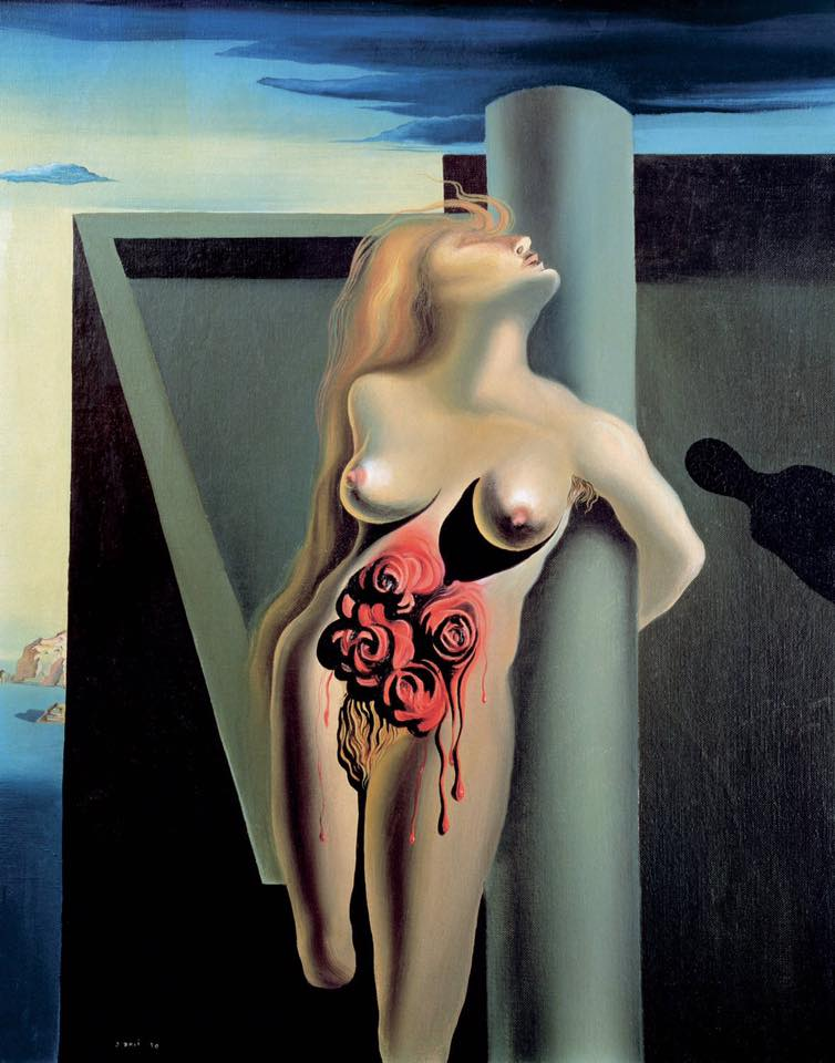 Salvador Dalí - the bleeding roses