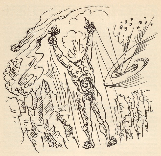 Illustration by Andre Masson, 1936.